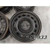 Оригинальные диски Opel R15 4x110 6,5Jx15H2 ET27 DIA 65,1