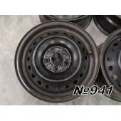 Диски оригинальные R16 5x114,3 6,5Jx16 ET48 DIA 64,1 Honda Civic 6