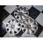 Оригинальные Колпаки R15 Volkswagen 1TO.601.147D Spain